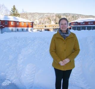 Erna Nerleir i Entrepnor Eiendom er klar på at området skal utvikles med fokus på boligutbygging.