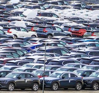 Havna i Drammen tar imot de aller fleste nye bilene som kommer til Norge. I dag er den dominert av elbiler, for ti år siden var det dieselbiler.
