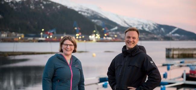 Marianne Dobak Kvensjø og Bård Ludvig Thorheim, stortingskandidater for Nordland Høyre