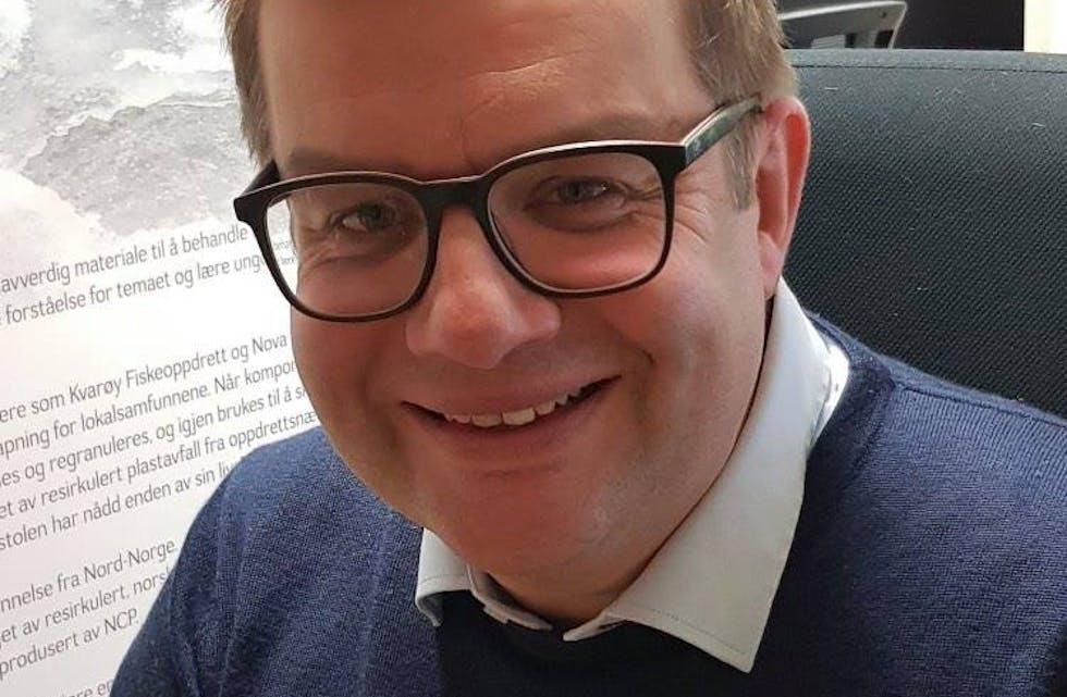Hans-Petter Skjæran har takket ja til stillingen som fabrikksjef ved Natre Hemnes.