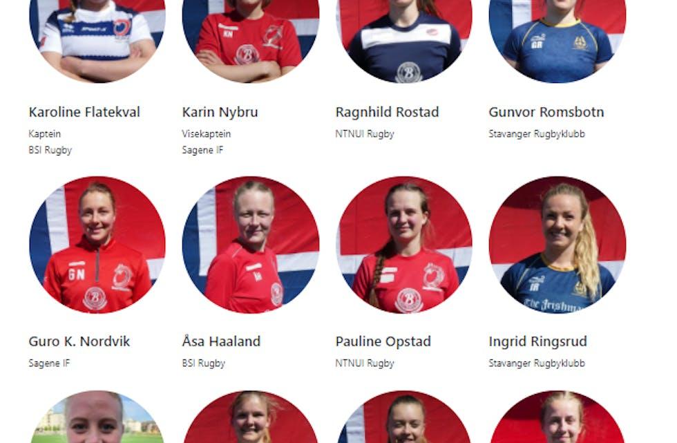 Pauline Opstad fra Finneidfjord skal representere Norge i EM i rugby.