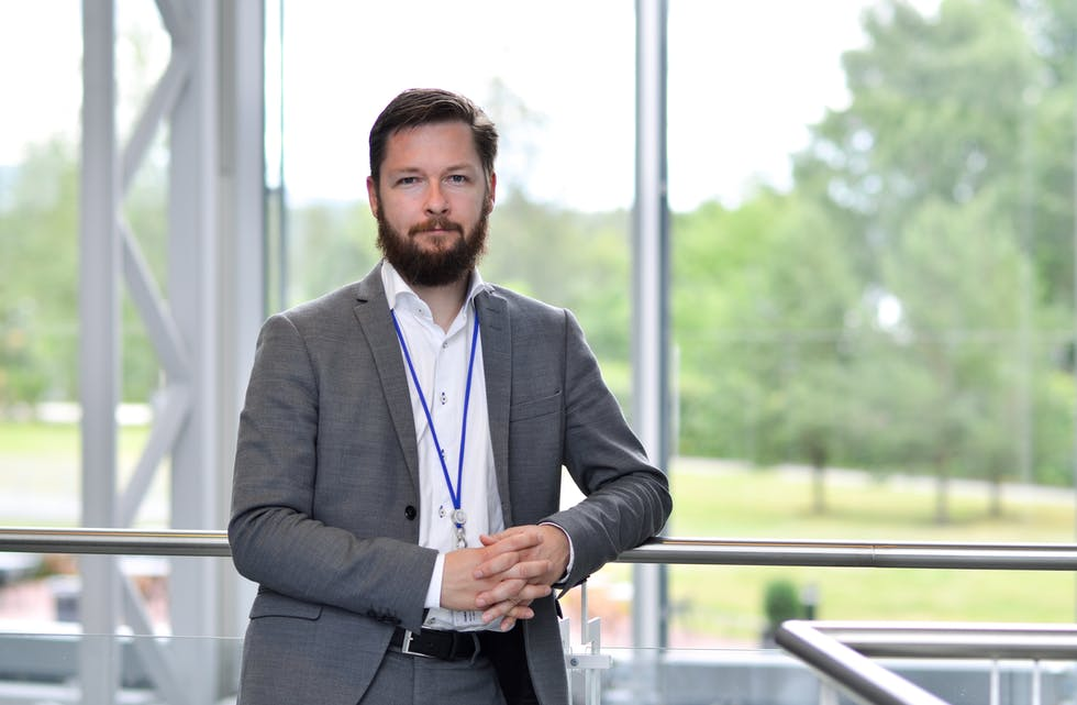 Martin Højriis, ekspert på samfunnskritisk digital infrastruktur i GlobalConnect Norge.