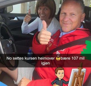 Torstein Evensen har nylig vært i Finnmark på bilferie.
