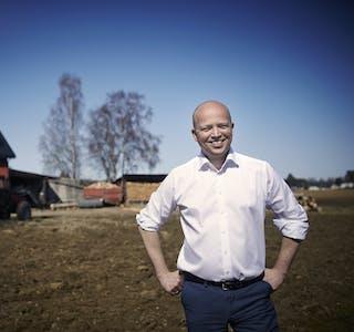 Leder av Senterpartiet, Trygve Slagsvold Vedum.