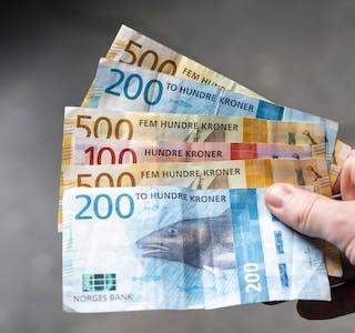Nær 358.000 nordmenn har fått utbetalt noe over 2,1 milliarder kroner i feriepenger for dagpenger. (Illustrasjon)
