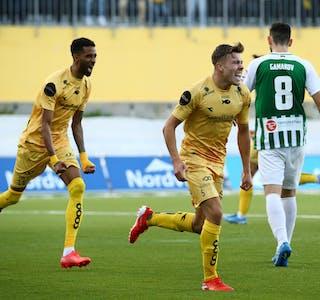 Bodø/Glimts Amahl Pellegrino og Fredrik Bjørkan er klare for Conference League.