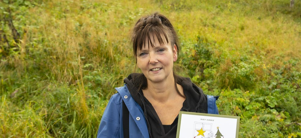 Marit Hammer Forø, født og oppvokst på Hemnesberget, er ute med bok «Petrine, Puselus og den mystiske adventsgjesten».