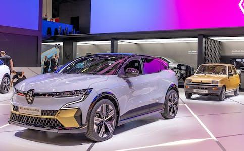 En elektrisk versjon av Megane er ventet til Norge til våren. Bilen er bygget på en helt ny plattform dedikert til elbiler.