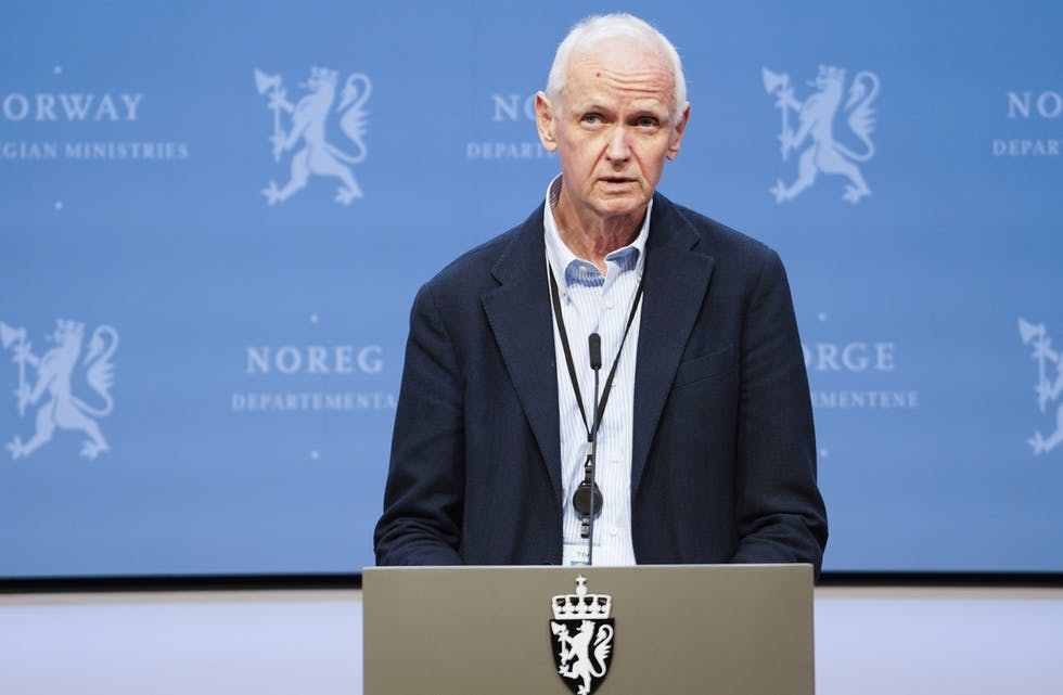 FHIs smitteverndirektør Geir Bukholm.