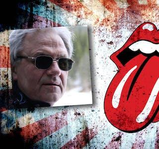 Tributebandet «We want  Stones» holder konserter I Mosjøen og Korgen kommende helg. (Fotomontasje)