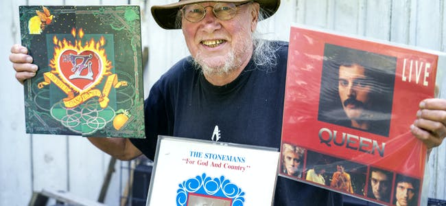 Ragnar Ridder-Nielsen har kanskje Norges største samling av vinylplater. Han legger ikke skjul på at man må være relativt altetende for å samle over så mange år. – Jeg har ennå ikke funnet en eneste LP der det ikke er ett nummer jeg synes er ålreit, sier han.