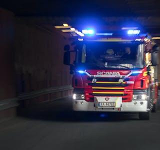 Et branntilløp i en rorbu på Hemnesberget ble slukket ved sjutiden i morges, 2. oktober. (Arkivfoto)