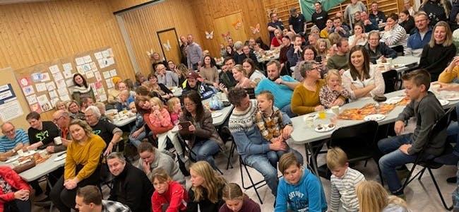 Åpen dag på Bjerka skole var et populært arrangement