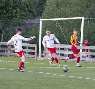 Det endte med 1-1 for Korgen IL borte mot Lurøy FK. Bildet er fra hjemmekampen mot Nesna, som også endte 1-1.