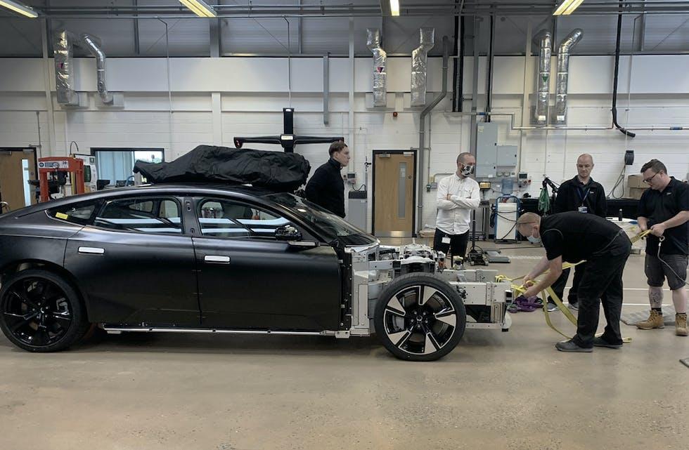 Polestar Precept skal på markedet i 2025, utviklingen av bilen skal skje i England.