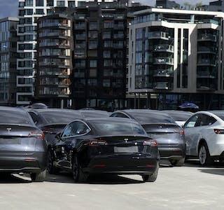 Det er nå mer enn 70.000 Tesla-biler i Norge.