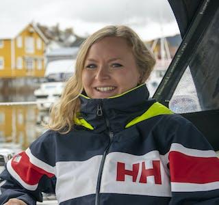 Sigrid Mathilde Bech Urland har nettopp startet på turen som om tre år muligens har resultert i ei jordomseiling.
